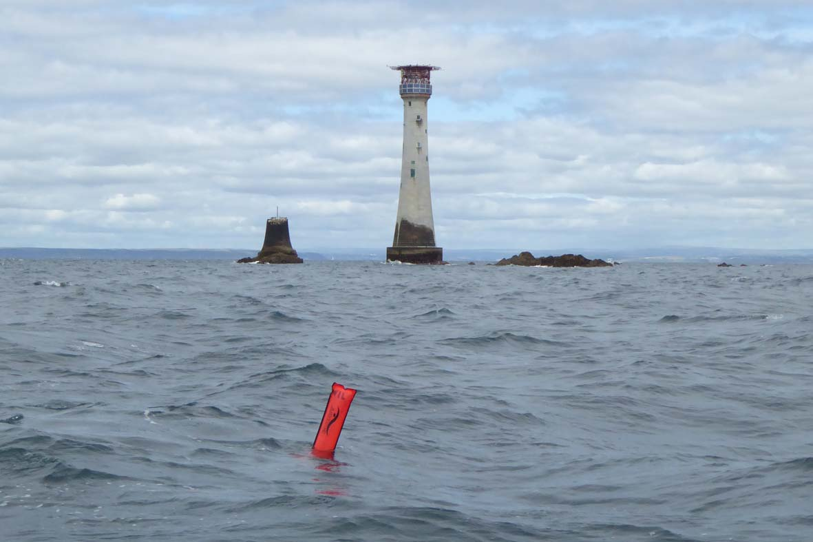 Plymouth Sound Divers at the Eddystone Lighthouse